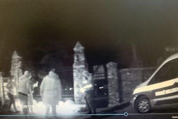 Do późnych godzin nocnych funkcjonariusze SM czuwali na bezpieczeństwem oraz spokojem i porządkiem publicznym w rejonie cmentarza