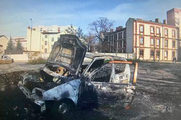 Podjęto czynności, w celu ustalenia właściciela spalonego auta, a następnie dotarto do niego i poinformowano o zdarzeniu. 1