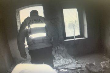 7. Uratowana osoba bezdomna przed zaczadzeniem.