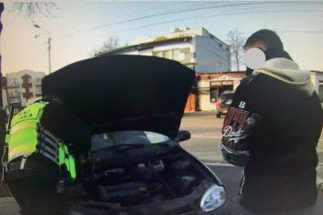 Patrol SM., umożliwił uruchomienie pojazdu za pomocą urządzenia Star Booster.