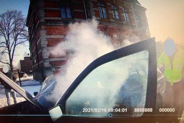 pożar pojazdu