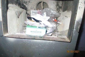 Spalenie odpadów niedozwolonych.