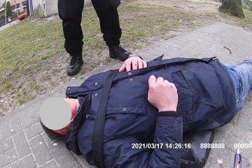 udzielenie pomocy męzczyżnie, który doznał urazu głowy po upadku z rowera.